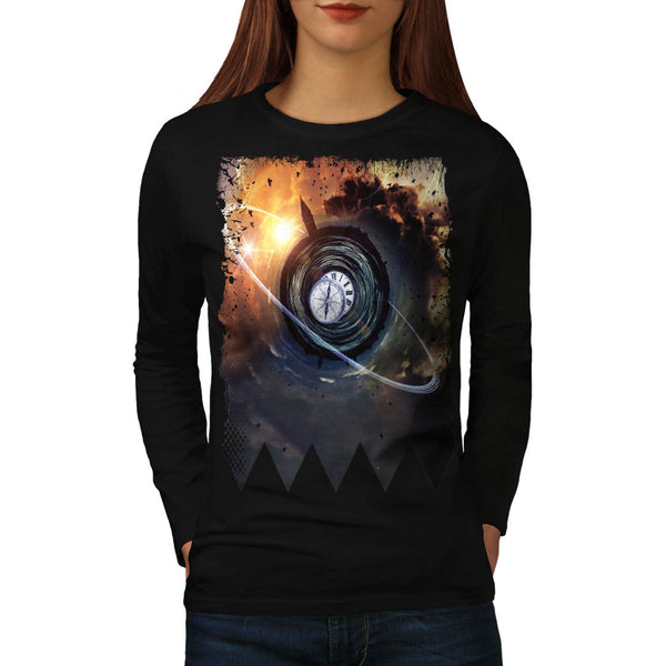 Eternity Storm Twist Womens Long Sleeve T-Shirt