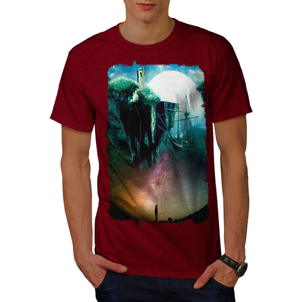 Dream Fantasy Travel Mens T-Shirt