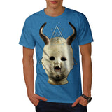 Horned Devil Baby Mens T-Shirt