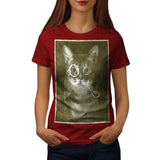 Gentleman Kitty Cat Womens T-Shirt