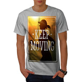 Keep Moving Jogger Mens T-Shirt