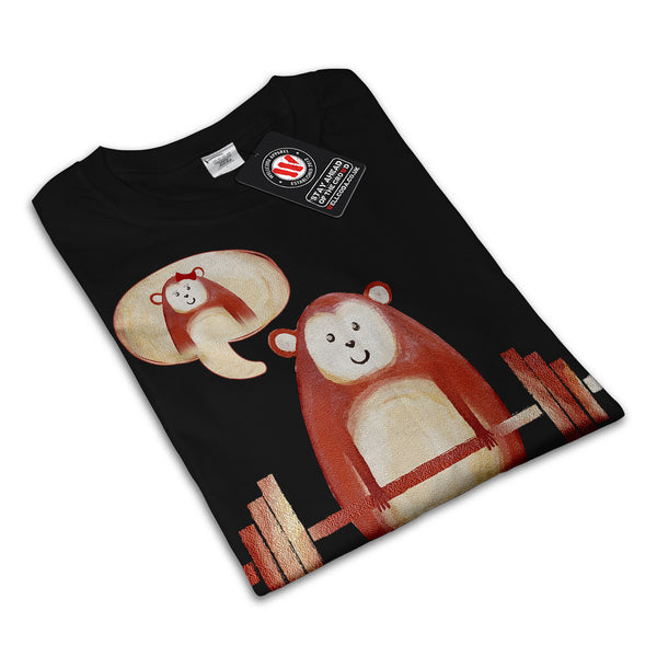Weightlifting Monkey Mens T-Shirt