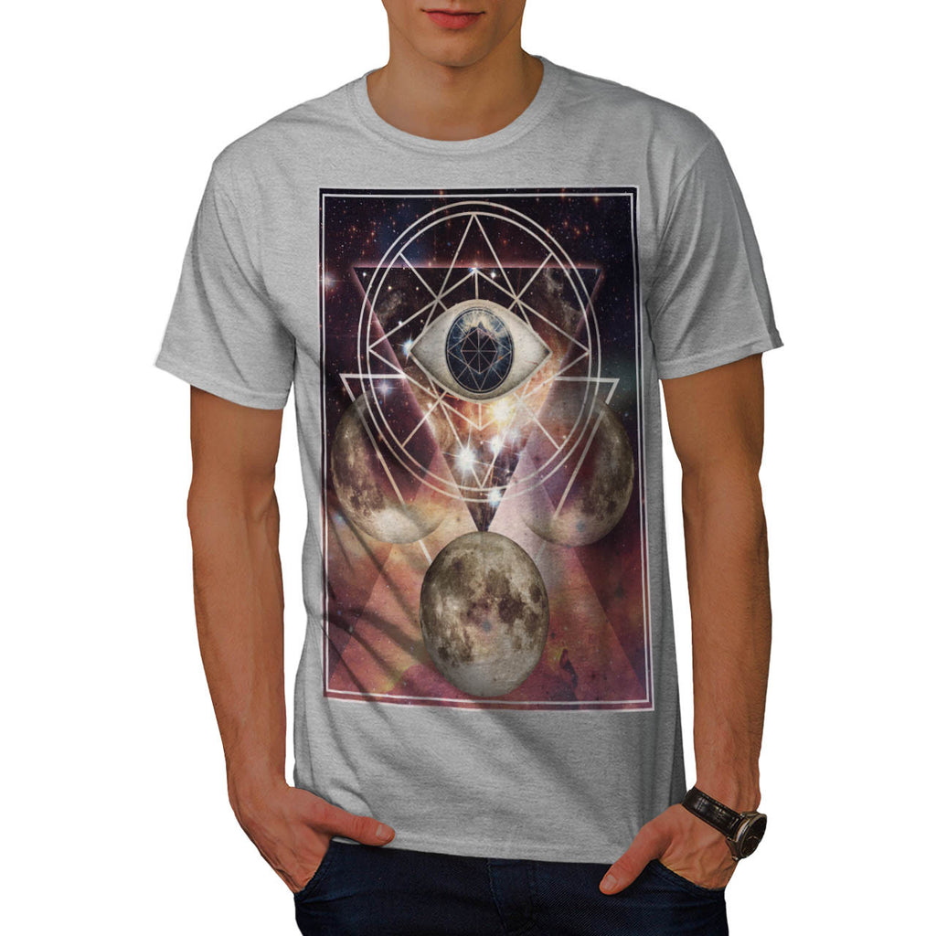 Mysterious Moon Eye Mens T-Shirt