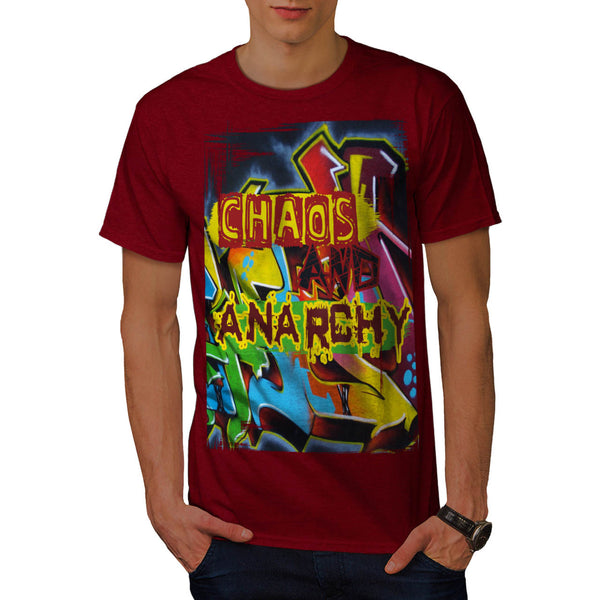 Chaos And Anarchy Mens T-Shirt