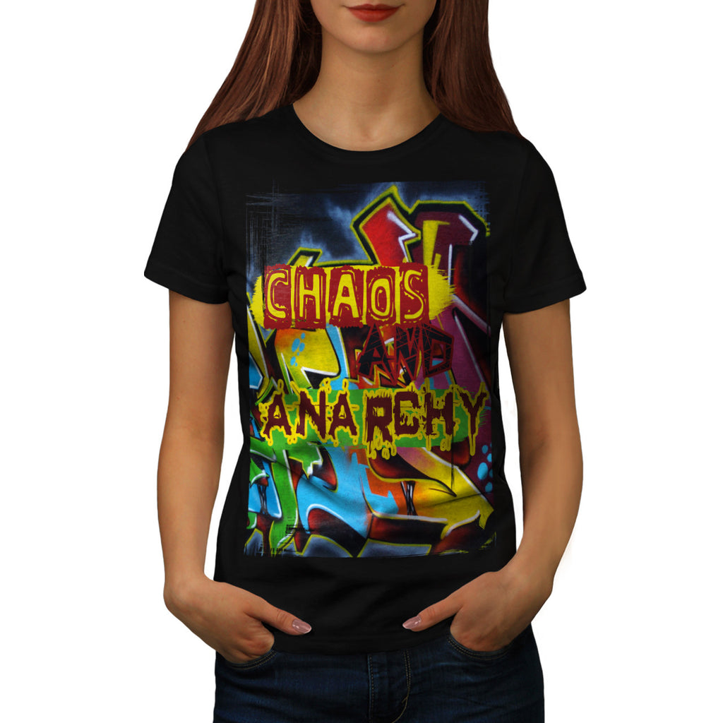 Chaos And Anarchy Womens T-Shirt