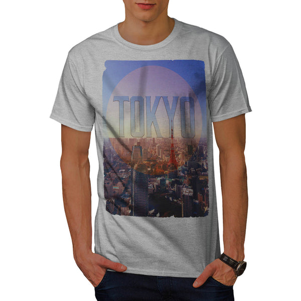 City Japan Capital Mens T-Shirt