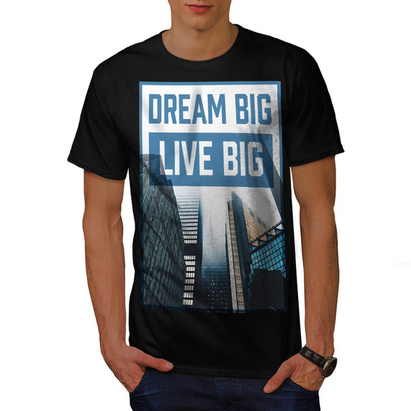Dream View Building Mens T-Shirt