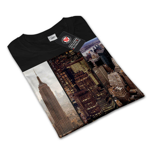 Manhattan Bronx City Womens Long Sleeve T-Shirt