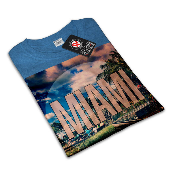 Miami City Sight Hot Mens T-Shirt