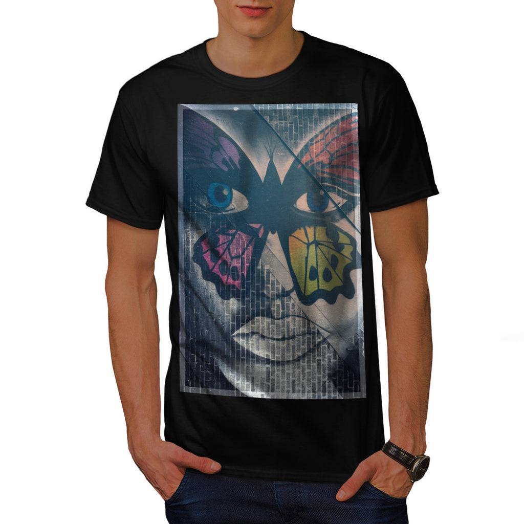 Butterfly Woman Look Mens T-Shirt