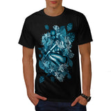 Garden Robot Girl Mens T-Shirt