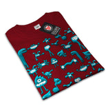 Blue Monster Buddy Mens T-Shirt