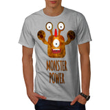 Cute Monster Power Mens T-Shirt