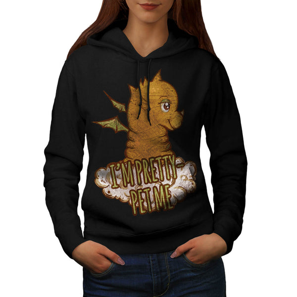 Friendly Monster Pet Womens Hoodie