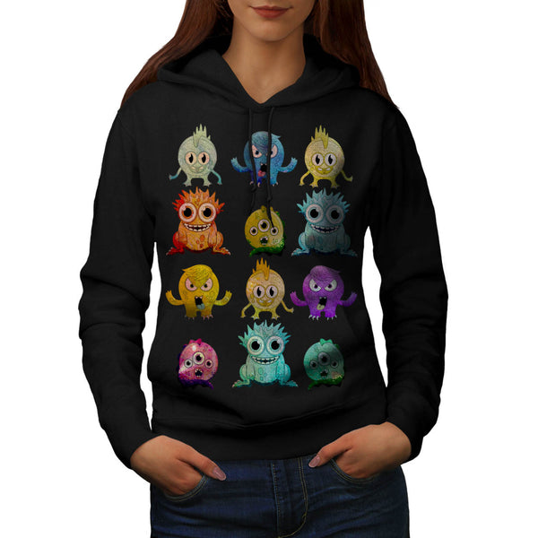 Buddy Monster Spook Womens Hoodie