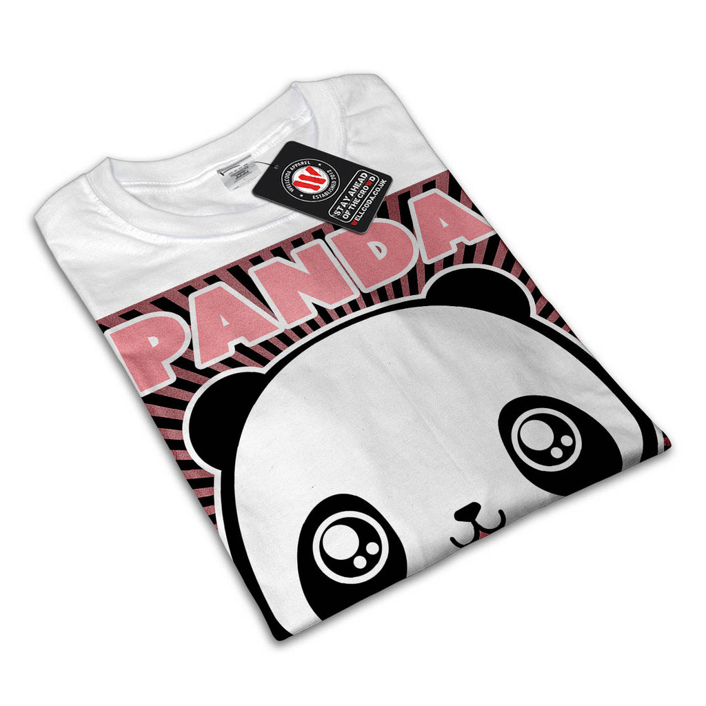Adorable Panda Time Mens T-Shirt