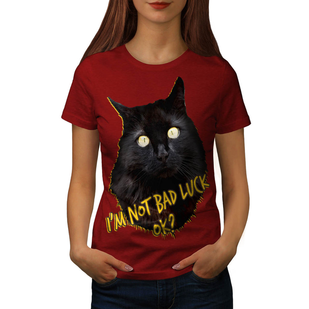 Black Is Not Bad OK Womens T-Shirt
