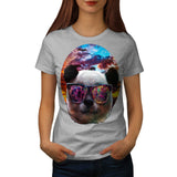 Fantasy Panda Bear Womens T-Shirt