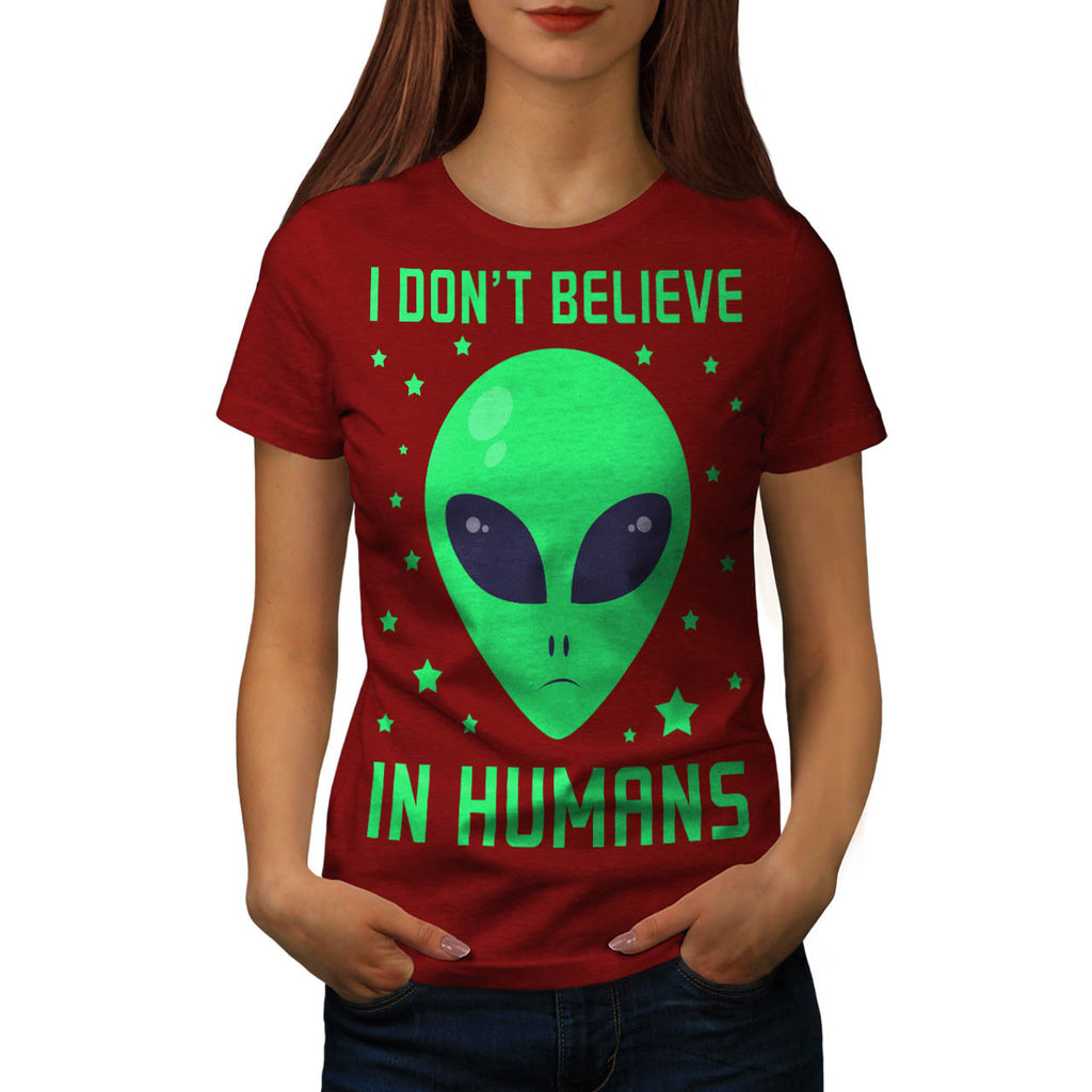 Humans Don't Exist Womens T-Shirt