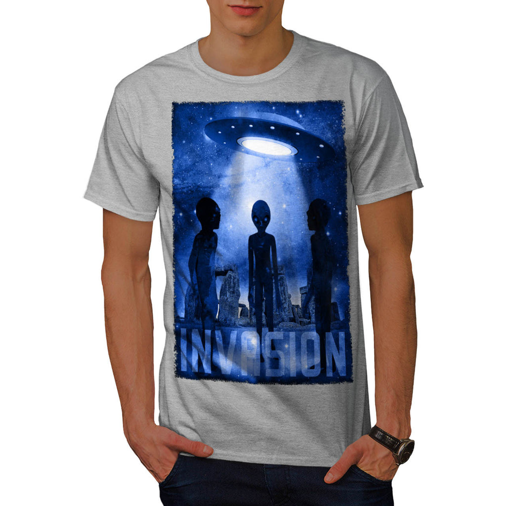 Space Beast Invasion Mens T-Shirt