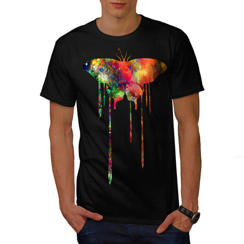 Artistic Butterfly Mens T-Shirt