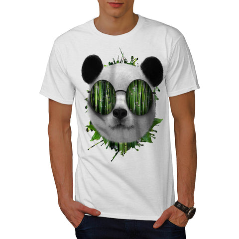 Bamboo Panda Bear Mens T-Shirt