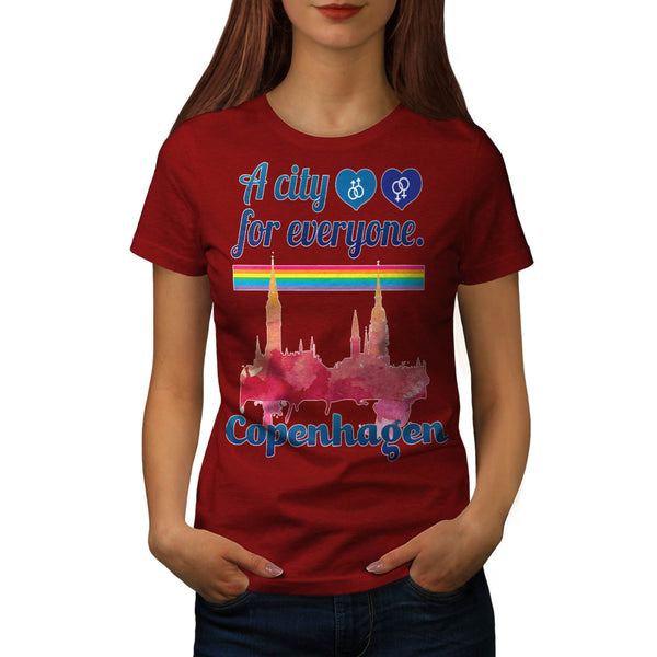 Friendly Copenhagen Womens T-Shirt