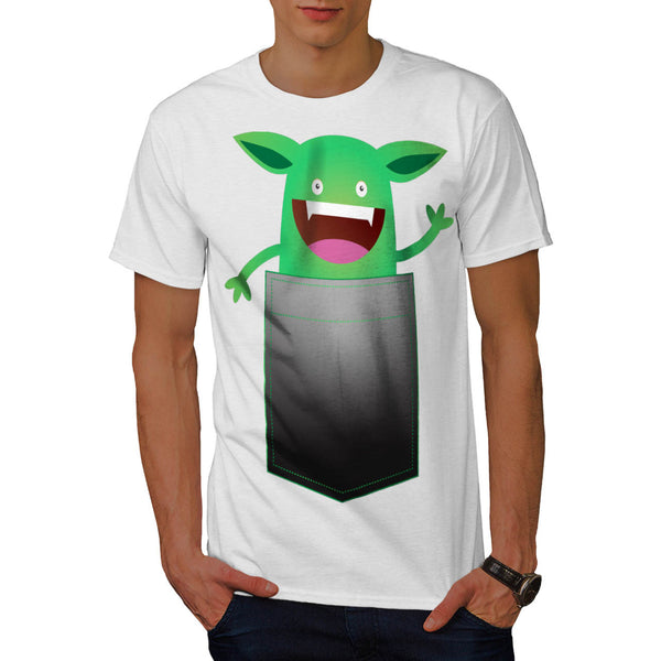 Pocket Gizmo Buddy Mens T-Shirt