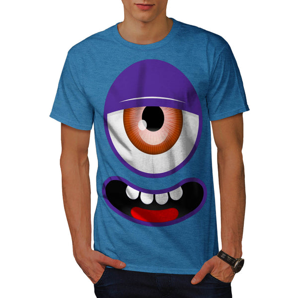 Cute Monster Friend Mens T-Shirt