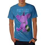 Party Like A Unicorn Mens T-Shirt