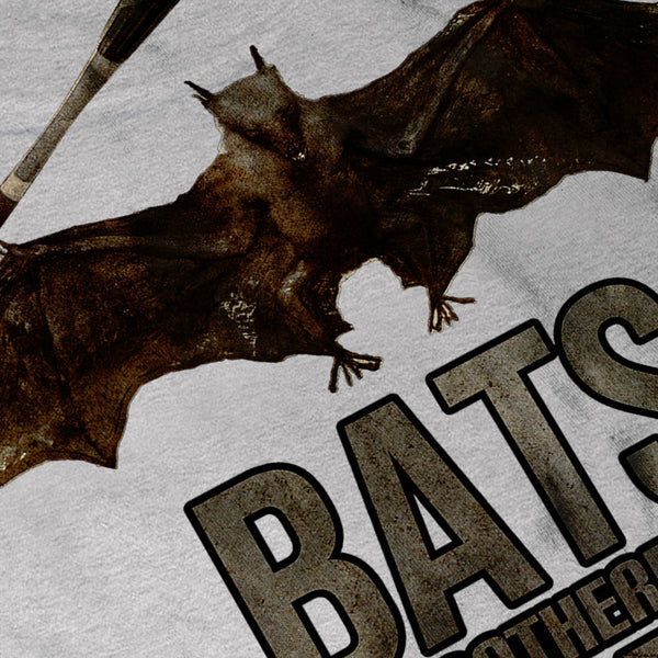 Bats Wordplay Fun Mens T-Shirt