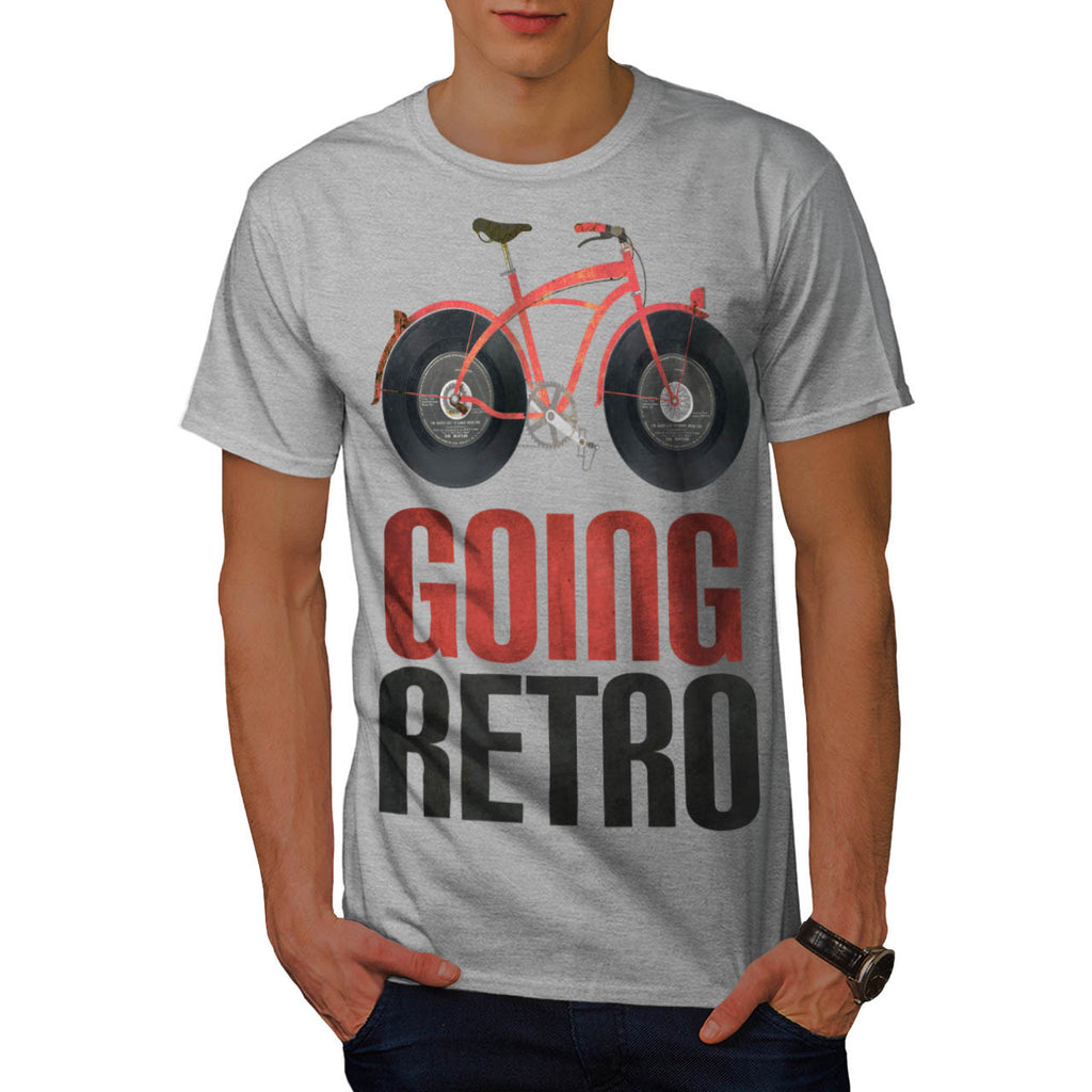Going Retro Bicycle Mens T-Shirt