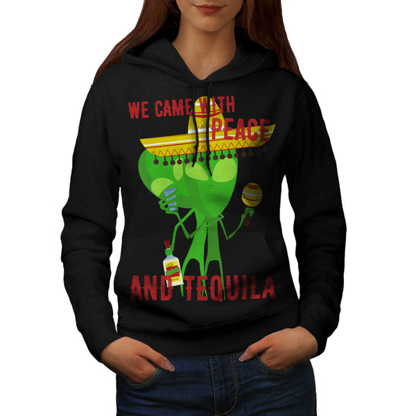 Peace And Tequila Womens Hoodie