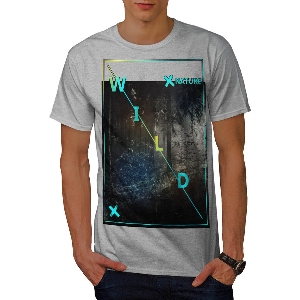 Wild Nature Beauty Mens T-Shirt