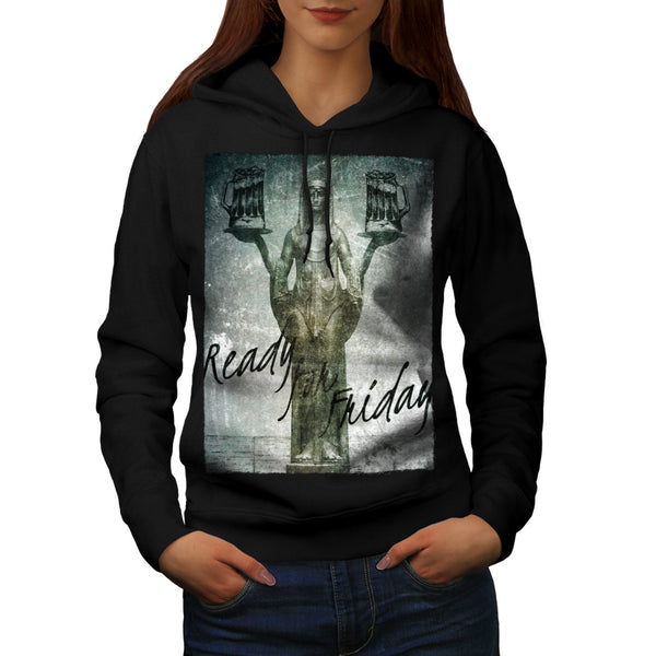 Ready For Friday Fun Womens Hoodie