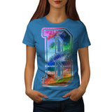 Vacation Time Letter Womens T-Shirt