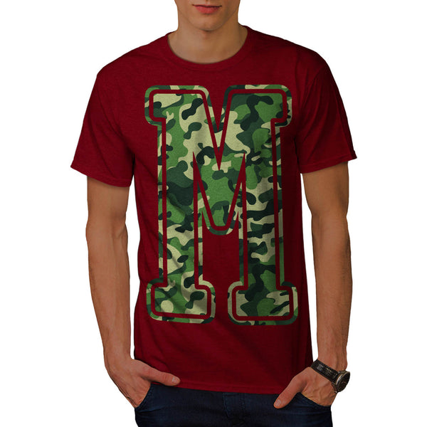 Military Army Letter Mens T-Shirt