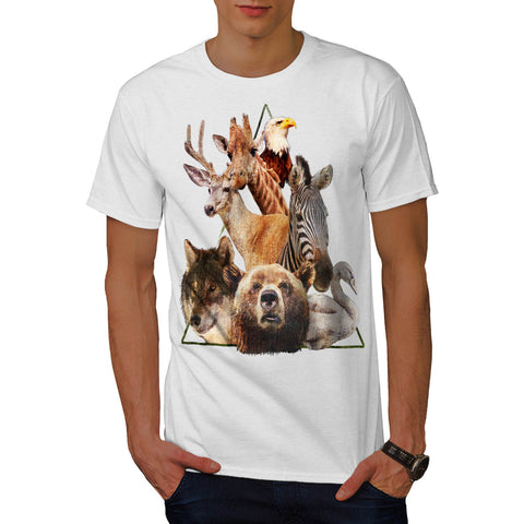 Wilderness Animal Mens T-Shirt
