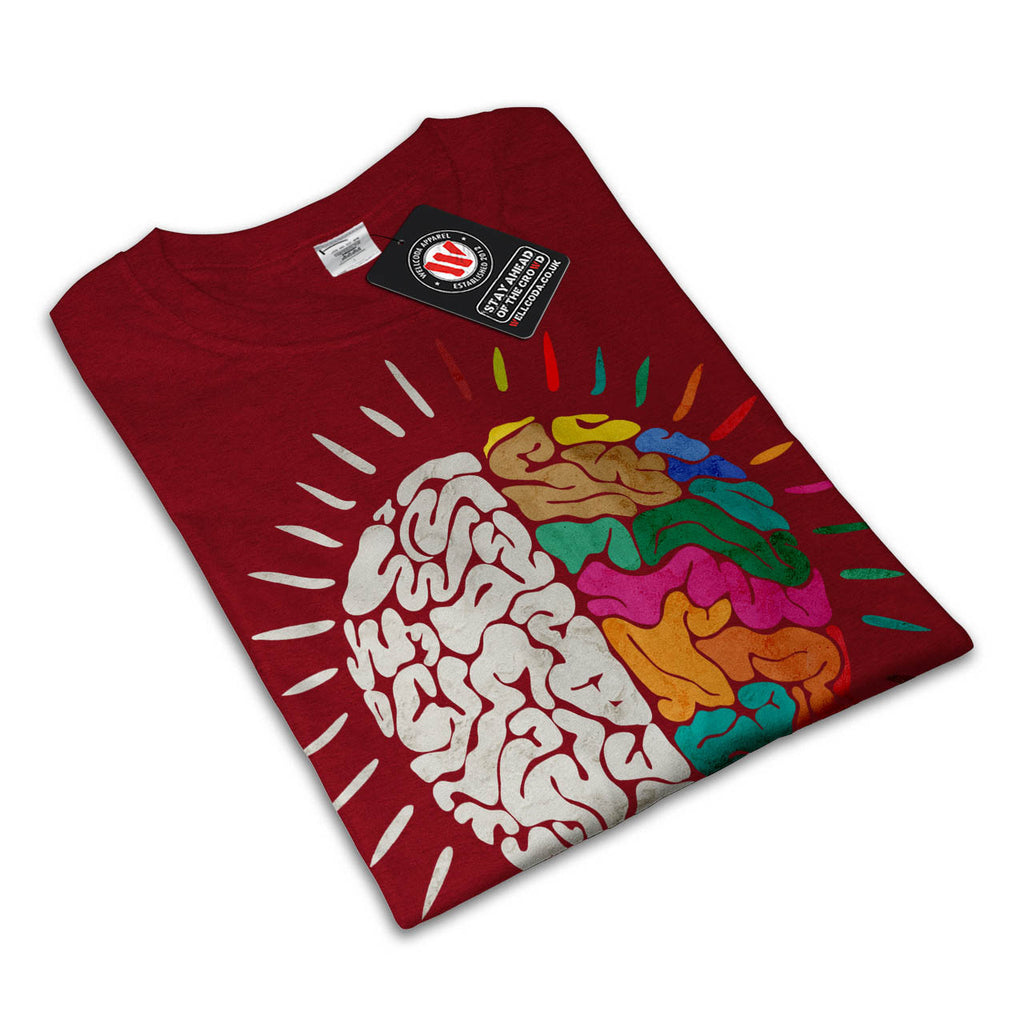Creative Brain Bulb Womens T-Shirt
