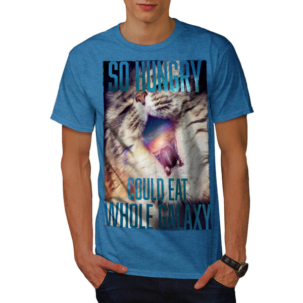 Hungry Galaxy Kitty Mens T-Shirt