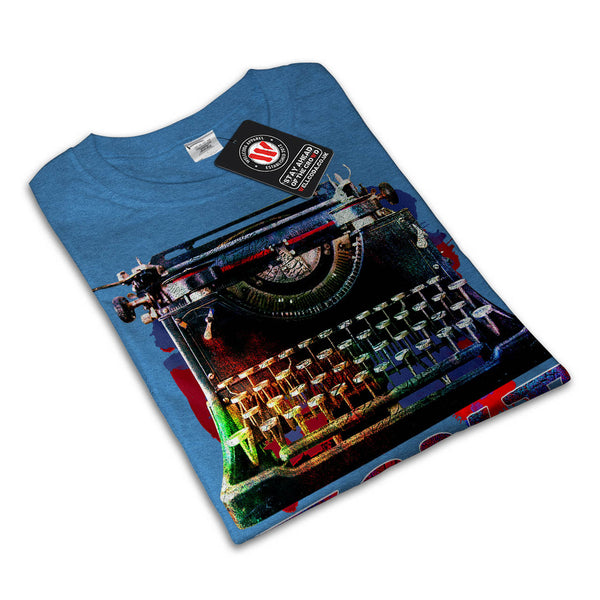 Retro Antique Text Mens T-Shirt