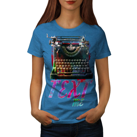Retro Antique Text Womens T-Shirt