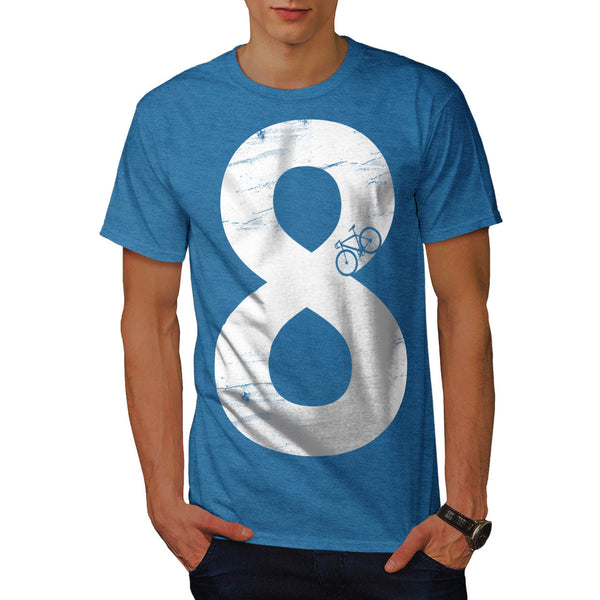 Bicycle Track Eight Mens T-Shirt