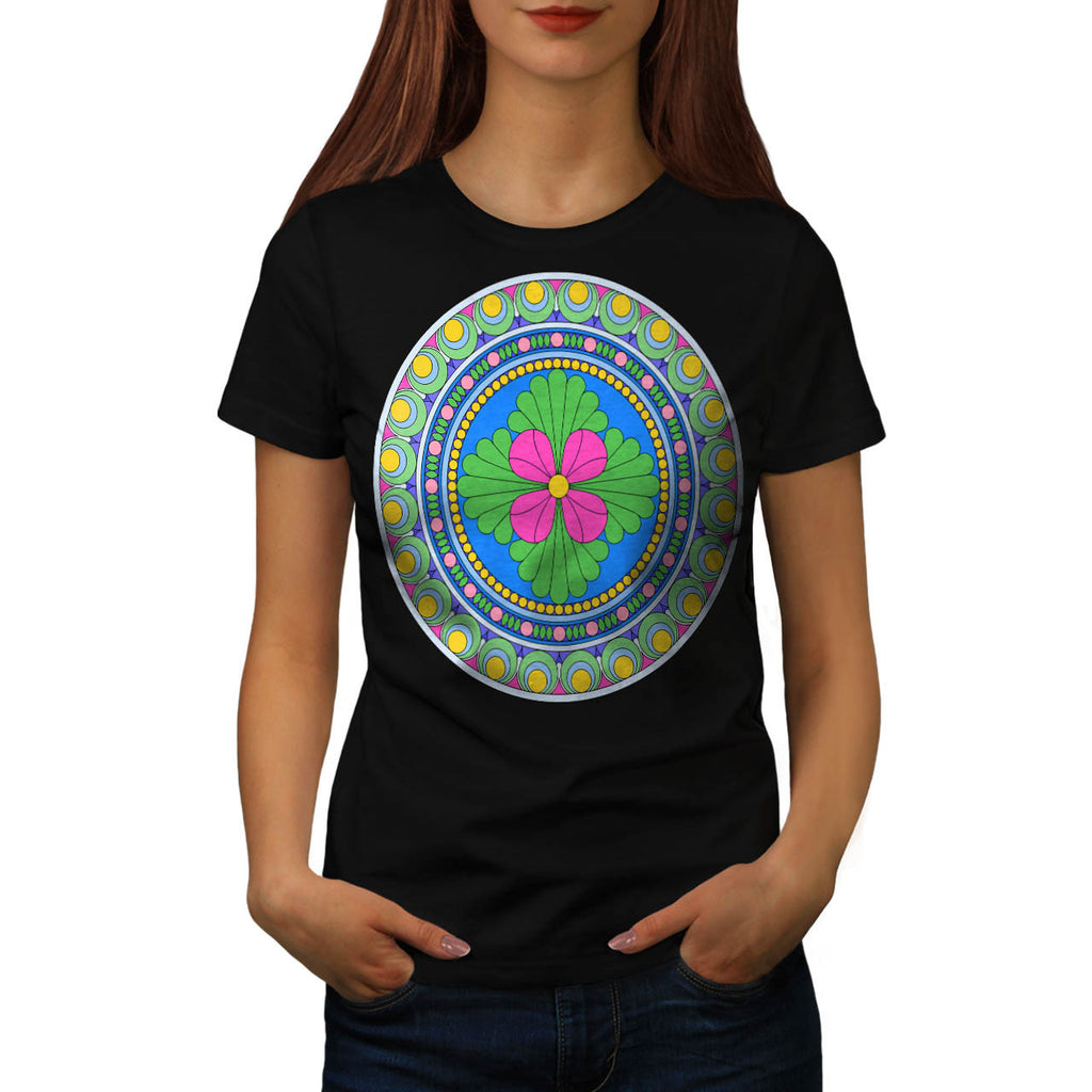 Style Indian Pattern Womens T-Shirt