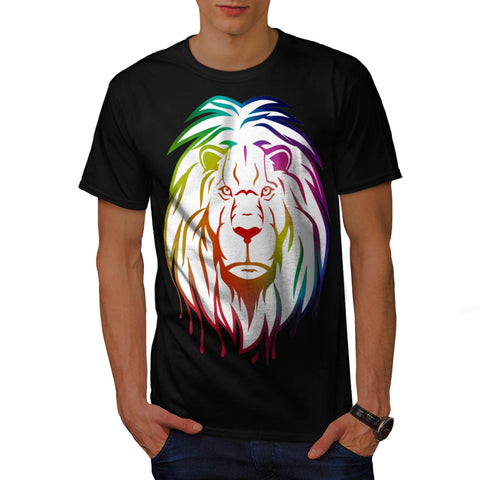 Royal Lion Colour Mens T-Shirt