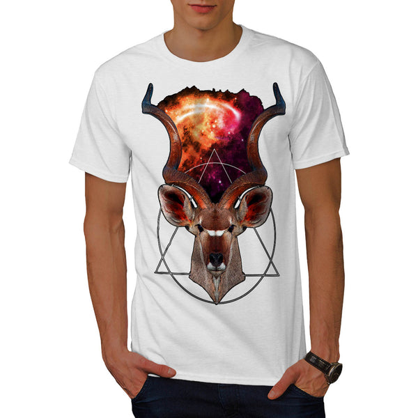 Mystic Mountain Goat Mens T-Shirt