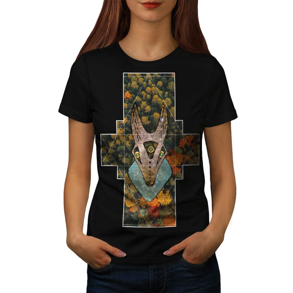Forest Wild Animal Womens T-Shirt