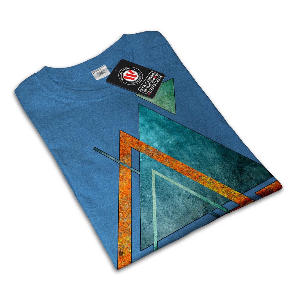 Abstract Triangle Mens T-Shirt