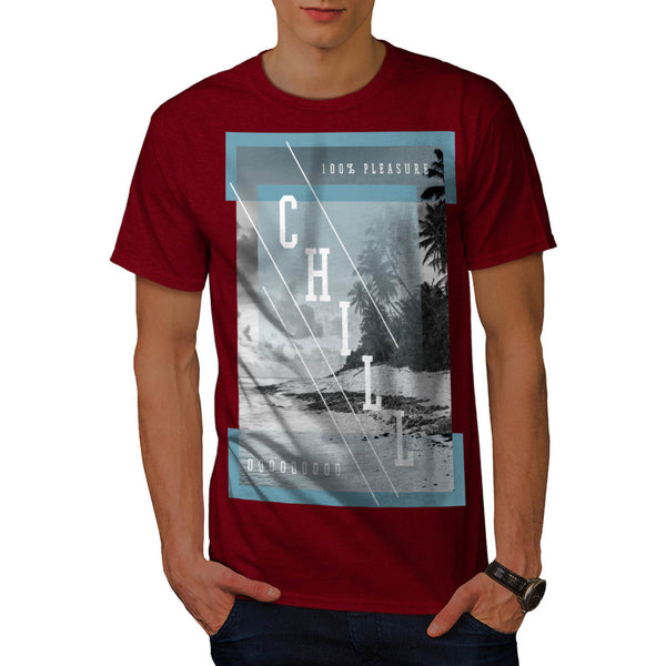 Pleasure Free Chill Mens T-Shirt