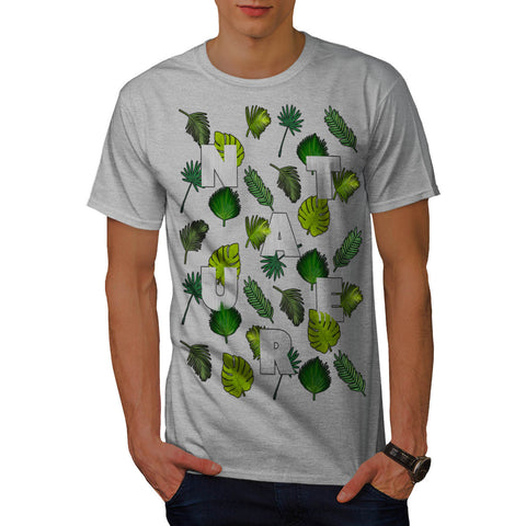 Nature Leaf Lover Mens T-Shirt